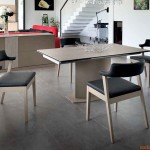 Discovery-C by Domitalia, tavolo in metallo con piano in vetroceramica